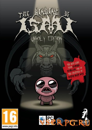 Постер игры The Binding of Isaac