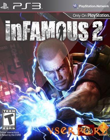 Постер inFamous 2
