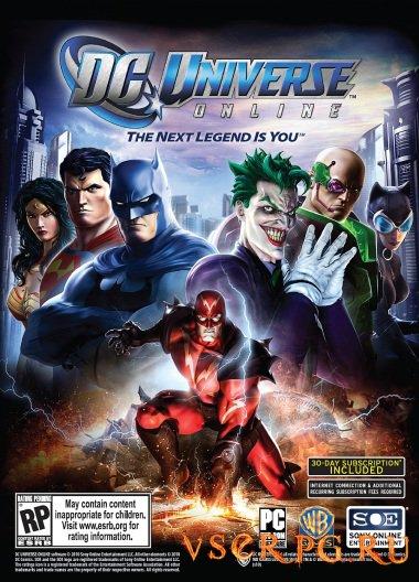 Постер игры DC Universe Online