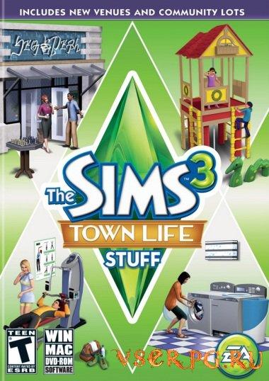 Постер игры Симс 3: Городская жизнь