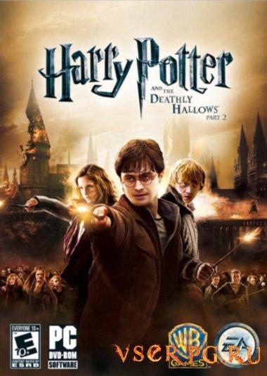 Постер игры Гарри Поттер и Дары Смерти 2
