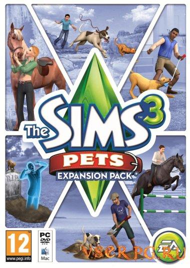 Постер игры Симс 3: Питомцы