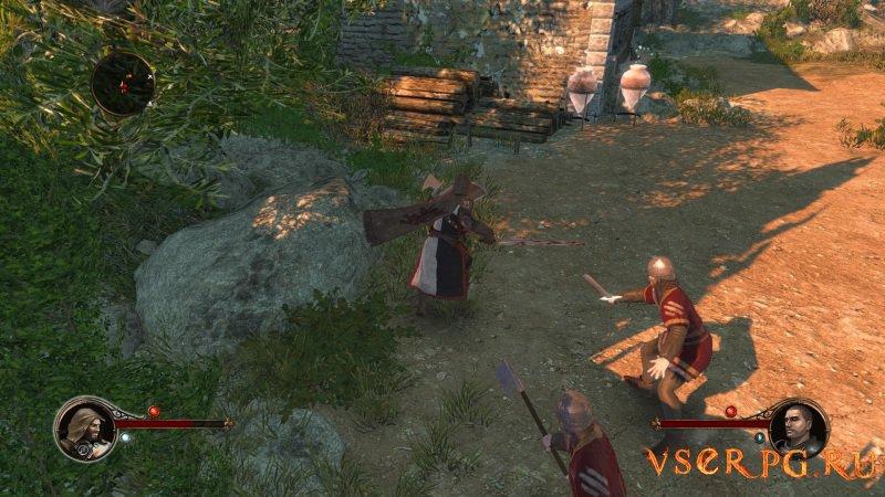 The First Templar screen 1