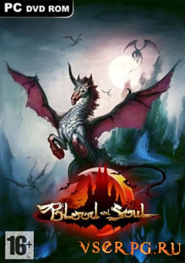 Постер игры Blood and Soul