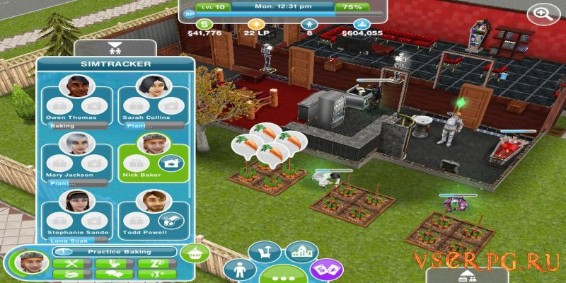 The Sims FreePlay [Android] screen 2