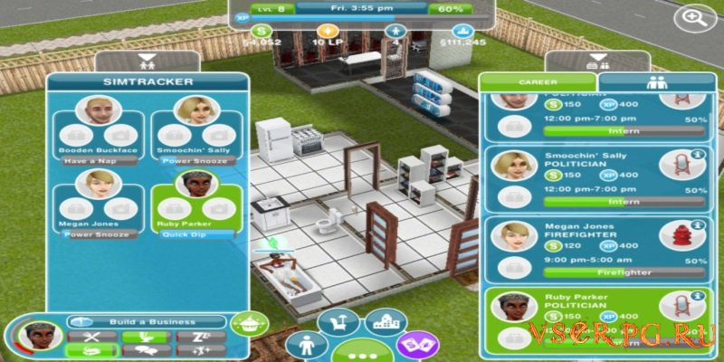 The Sims FreePlay [Android] screen 1