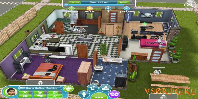 The Sims FreePlay [Android] screen 3