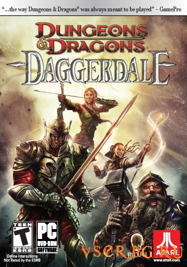 Постер игры Dungeons & Dragons: Daggerdale