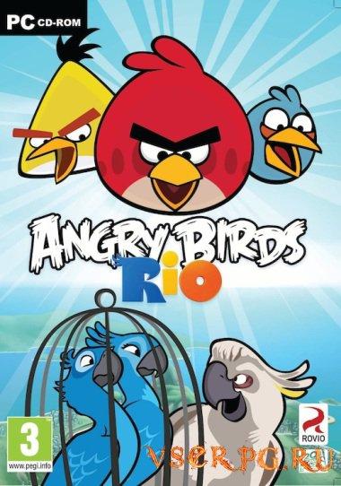 Постер игры Angry Birds Rio