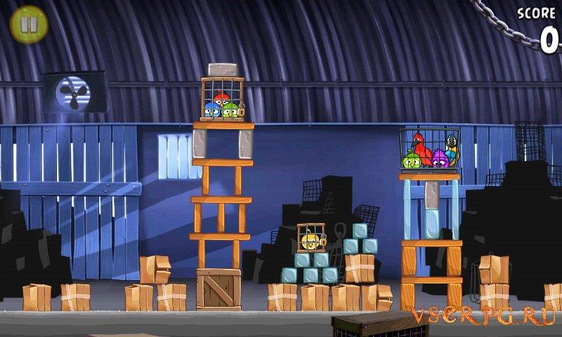 Angry Birds Rio screen 3