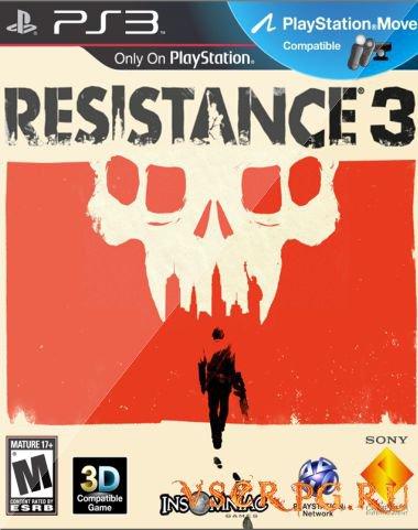 Постер игры Resistance 3