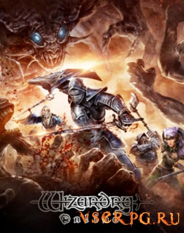 Постер игры Wizardry Online