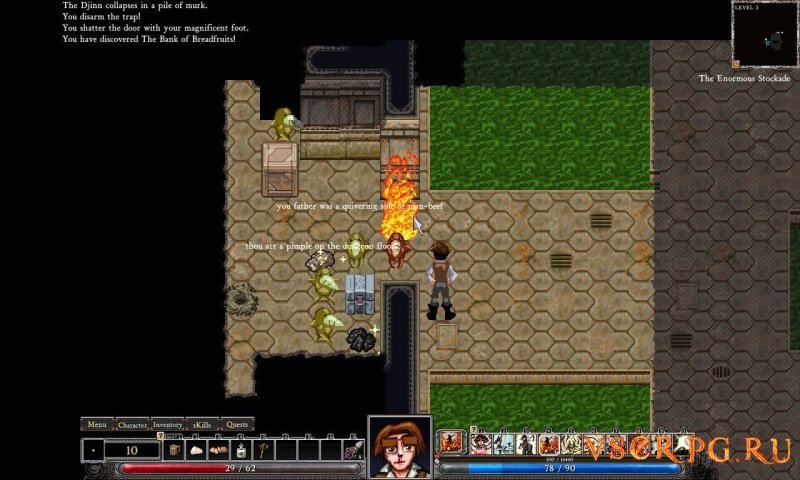 Dungeons of Dredmor screen 2