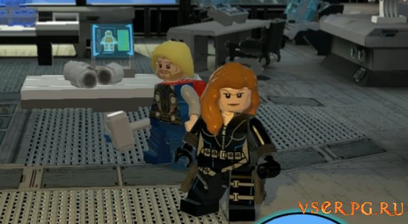 LEGO Marvels Avengers screen 3
