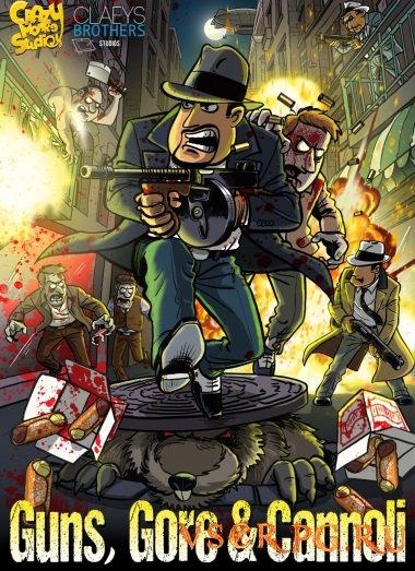 Постер игры Guns, Gore & Cannoli