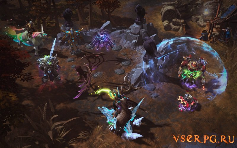 Heroes of the Storm screen 2