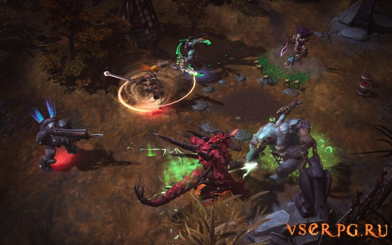 Heroes of the Storm screen 3