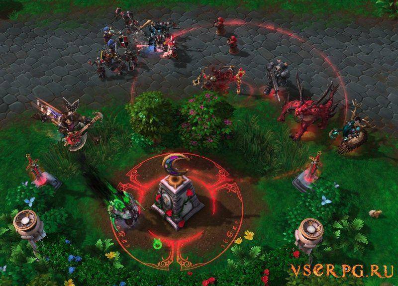 Heroes of the Storm screen 1