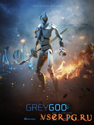 Постер игры Grey Goo