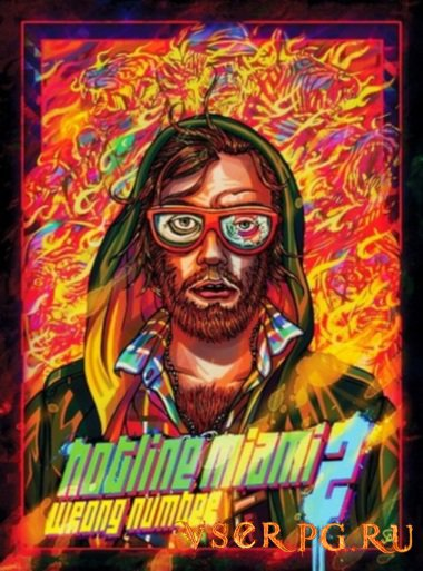 Постер игры Hotline Miami 2: Wrong Number