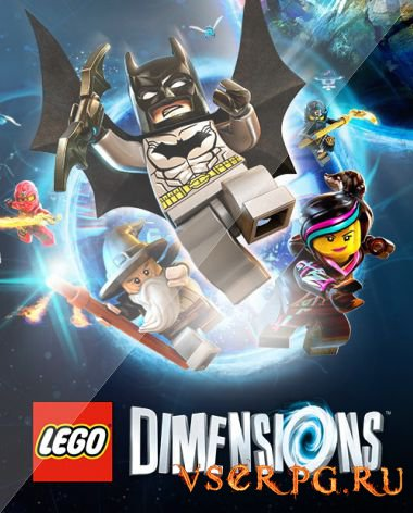 Постер игры LEGO Dimensions [PS4]