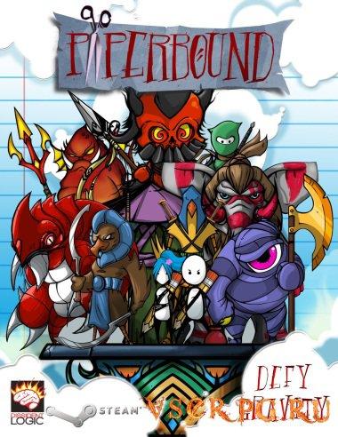 Постер игры Paperbound