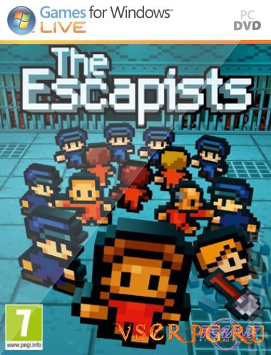 Постер игры The Escapists