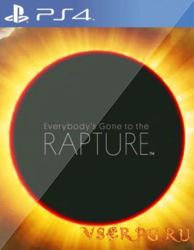Постер игры Everybody's Gone to the Rapture