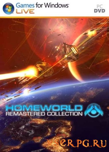 Постер игры Homeworld Remastered Collection