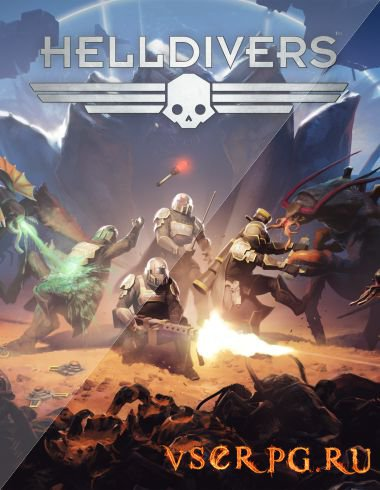 Постер игры Helldivers