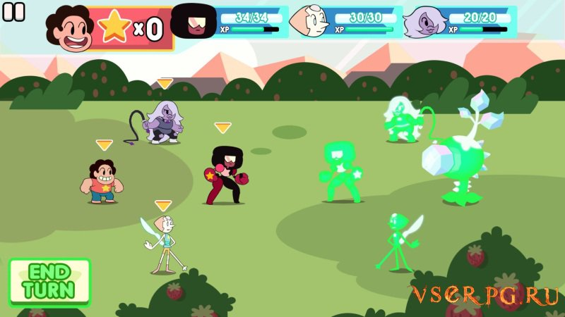 Attack the Light Steven Universe Light RPG screen 1