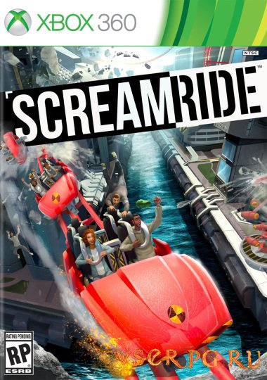 Постер игры Screamride