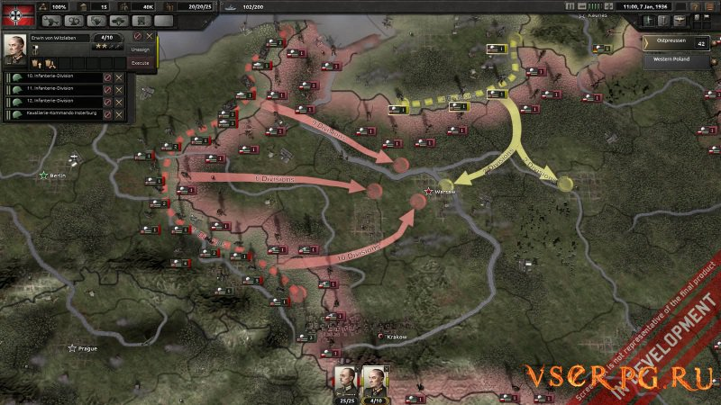 Hearts of Iron 4 screen 1