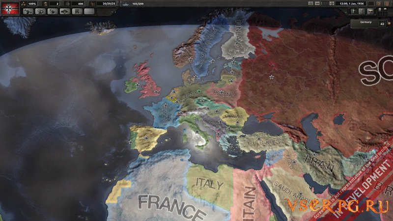 Hearts of Iron 4 screen 2