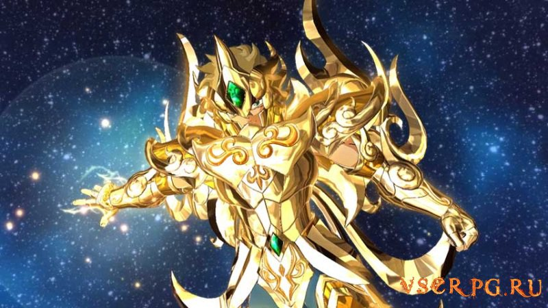 Saint Seiya Soldiers Soul screen 1