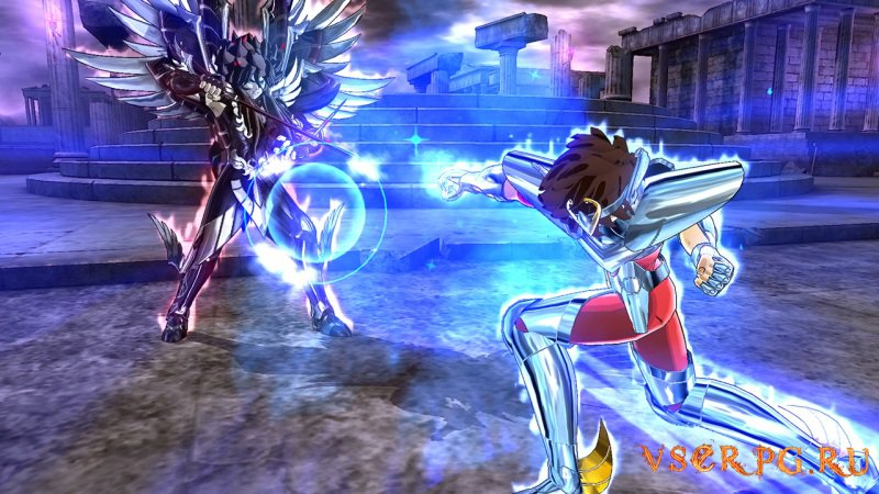 Saint Seiya Soldiers Soul screen 2