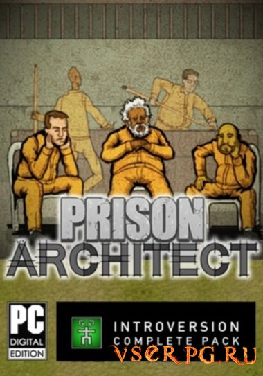 Постер игры Prison Architect