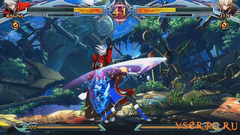 BlazBlue Chrono Phantasma Extend screen 1