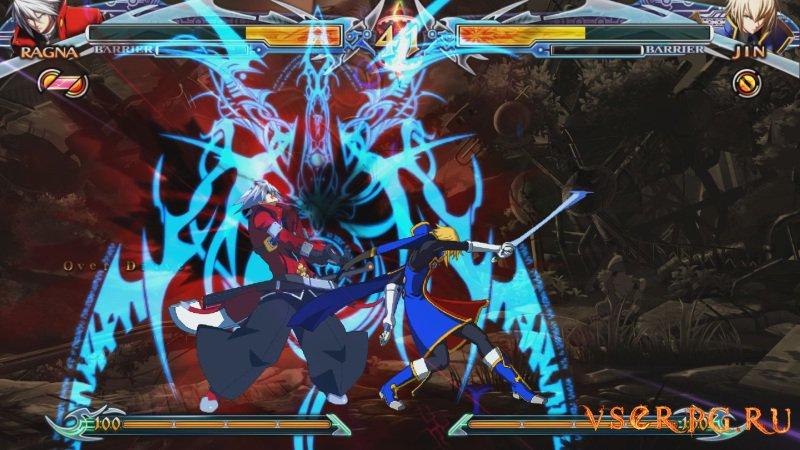 BlazBlue Chrono Phantasma Extend screen 2
