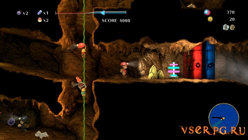 Spelunker Z screen 2