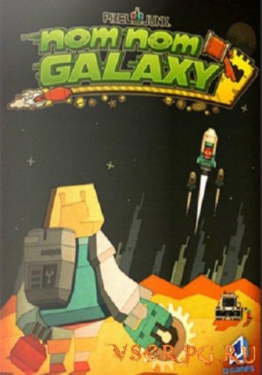 Постер игры PixelJunk Nom Nom Galaxy