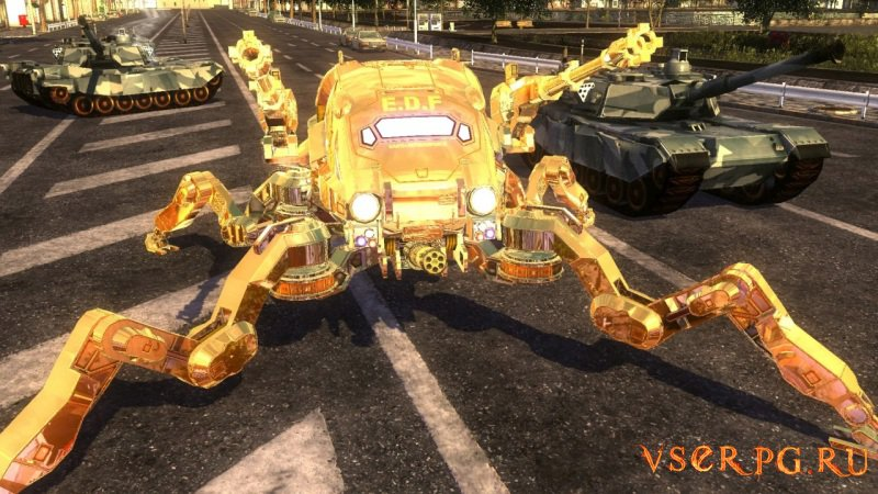 Earth Defense Force 4.1 The Shadow of New Despair [PS4] screen 2