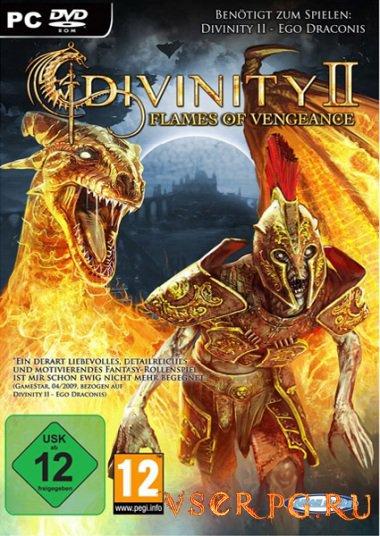 Постер игры Divinity 2: Пламя мести
