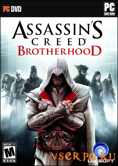 Постер игры Assassins Creed Brotherhood