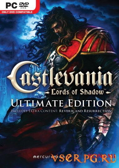 Постер игры Castlevania: Lords of Shadow