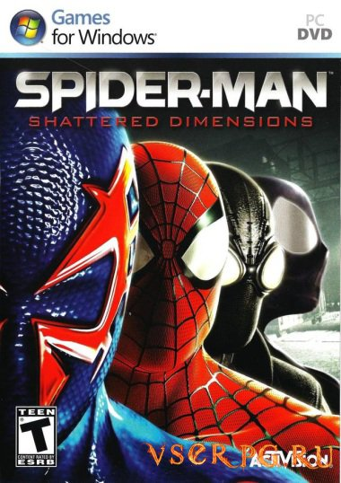 Постер игры Spider-Man: Shattered Dimensions