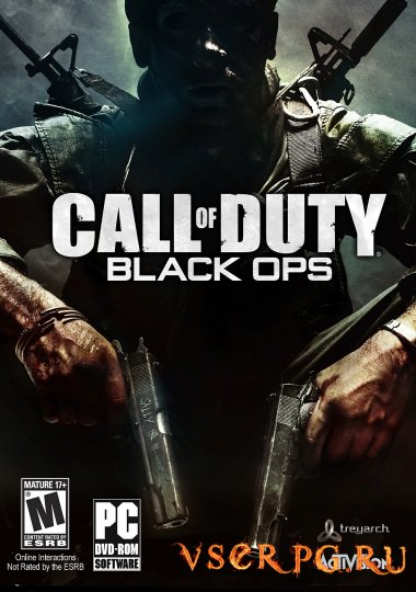Постер игры Call of Duty: Black Ops