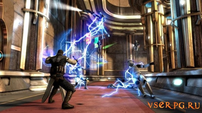 Star Wars: The Force Unleashed 2 screen 1