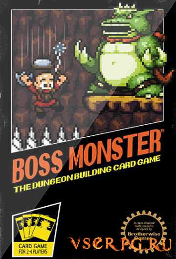 Постер игры Boss Monster