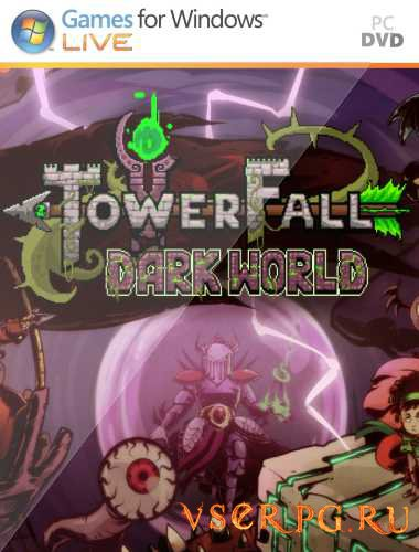 Постер игры TowerFall Dark World